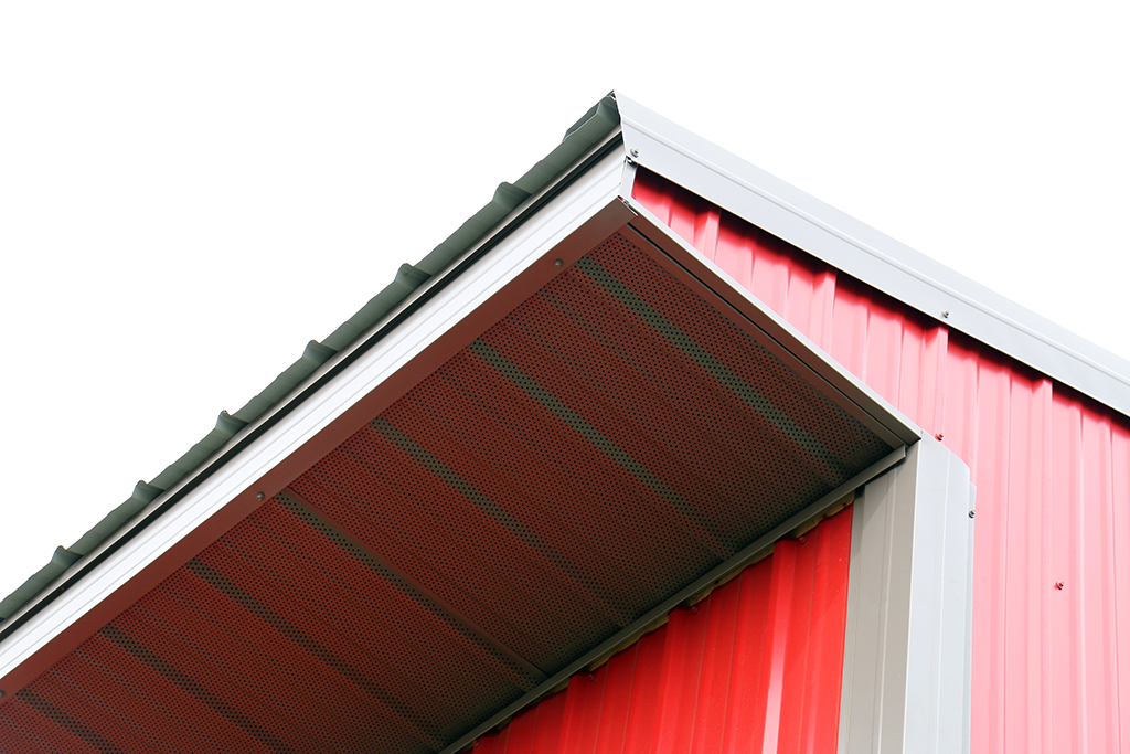 Pro Rib Metal Soffit Gallery Domtek Building Products